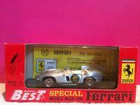 MODEL BEST SUPERBE FERRARI 750 MONZA 40TH ANNIVERSARIO NEUF EN BOITE ech 1/43 G3