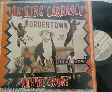 JOE KING CARRASCO & THE CROWNS - Bordertown ~ VINYL LP