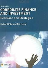 Corporate Finance and Investment : Decisions and Strategies