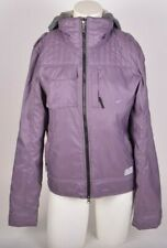 2015 NWOT WOMENS NIKE ACTION PEARL HOODED RAIN JACKET $180 M Purple juniors