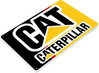 """CAT"" Mechanic Power Tools Heavy Equipment Toolbox Garage Shop Sign"