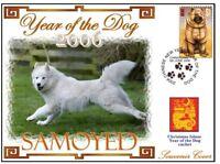 SAMOYED CHINATOWN YEAR OF THE DOG STAMP COVER 7