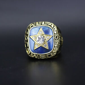 Roger Staubach - 1970 Dallas Cowboys NFC Championship Ring With Wooden Box
