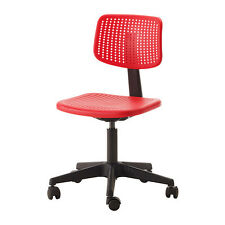 IKEA ALRIK Sedia ufficio, rosso