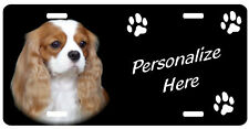 Cavalier King Charles Spaniel 1 Personalized license plate