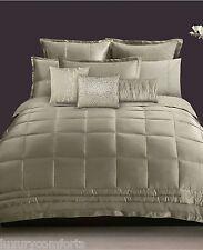 Donna Karan Modern Classics Celadon Stripped Standard Queen Pillow Sham e511
