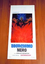 ESORCISMO NERO locandina poster affiche Vaudon entre vivants morts le sang AB33