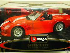 BURAGO SHELBY SERIE 1° 1999 COD.3353-SC 1/18-ORIGINALE BURAGO MADE IN ITALY