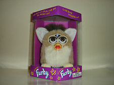 Gen. 2 Bear Furby brown eyes interactive pet Tiger Electronics Model 70-800