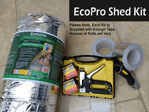 EcoPro Shed Insulation Kit - Reflective Barier Multi-Foil Insulation
