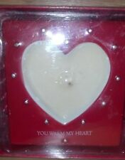 "Russ ""You Warm My Heart"" Red Heart Votive Vanilla Scent Brand New"
