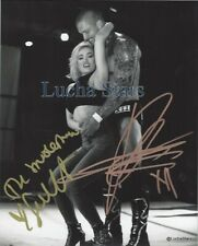 Scarlett Bordeaux and Killer Kross Duel Signed 8x10 Photo Impact Wrestling TNA