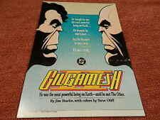 Rare Vintage 1989 Dc Comics Gil Gamesh Ii Pos Store Display - Superman - Mint