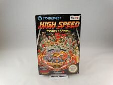 HIGH SPEED * FLIPPER PINBALL WILLIAMS * NINTENDO NES 8 BIT PAL A UK GBR COMPLETO