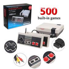 New Mini Retro TV Game Console NES 8Bit Classic 500 Built-in Games+2 Controllers