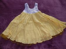 Girls Frilly Lined Baby K Dress In Size 12-18 Months