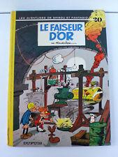 SPIROU ET FANTASIO  FOURNIER  LE FAISEUR D'OR   DUPUIS 1974   DOS ROND