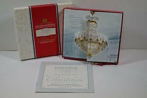 n4) Weihnachts Christbaum Schmuck Anhänger The White House Christmas 2002 USA