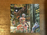 Iron Maiden LP - Somewhere in Time - Capitol SJ-12524 1986