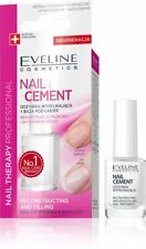 Eveline Nail Cement Strengthener Conditioner Base Coat Professional Hardener