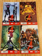 Secret Avengers Vol 3 #10 - #13 by Ales Kot Michael Walsh (2014, Marvel)