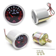 2inch 52mm Universal Car LED Bar Turbo Oil Pressure Gauge Meter Bar Gray Color