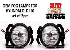 Premium Quality OEM Fog Lamps for Hyundai i10 old - Set of 2pcs