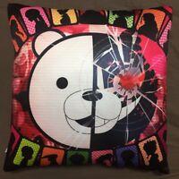 Anime Dangan Ronpa DanganRonpa monokuma two sided hugging Pillow Case Cover 74