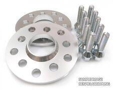 Spurplatten-Satz 2x 5mm 5x100 / 5x112, Inkl. 10 Radschrauben M14x15 40mm