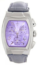 Techno marine Womens Purple Dial Grey Alligator Strap Watch TS 11879 31mm