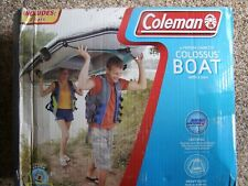 COLEMAN 3-PERSON CAPACITY COLOSSUS BOAT WITH 2 OARS