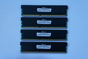 16GB Corsair Vengeance LP DDR3 Memory 1600MHz CL9 PC3-12800 CML16GX3M4A1600C9