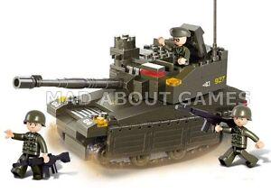 ARMY AC LEOPARD 2A6M TANK * 224 pcs * COMPATIBLE BRICKS * Building Blocks