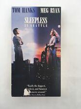 Sleepless in Seattle VHS 1993 Tom Hanks Meg Ryan PG CC