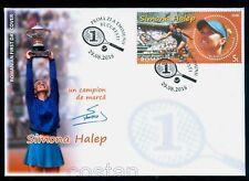 2018 Simona HALEP,tennis,Rolland Garros winner,WTA World nr.1,Romania,FDC