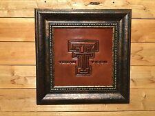 Texas Tech Primary Logo Leather Press