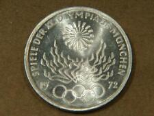 1972 F Germany 10 Mark Olympic Silver Coin