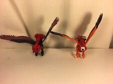 Rare 1980s MOTU Heman Screech & Zoar Birds Dated 1972 (error) Toys 80s Heman