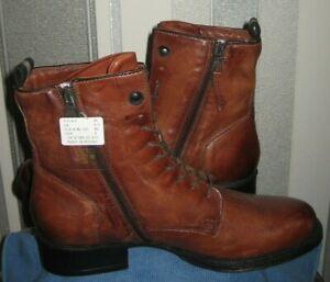 - MJUS Norton Leather Ankle Boots UK Size 6.5 eu 40