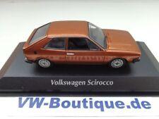 + VW Scirocco 1 von Maxichamps in 1:43  braunmetallic 940050421