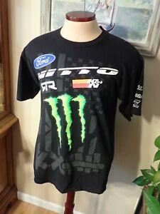 VAUGHN GITTIN JR Formula D Ford Monster Energy All Over Print T-Shirt L