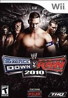 WWE SmackDown vs. Raw 2010 (Nintendo Wii, 2009) Disc Only, Tested