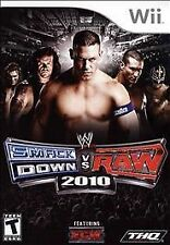 WWE SmackDown vs. Raw 2010 Featuring ECW (Nintendo Wii, 2009) VERY GOOD