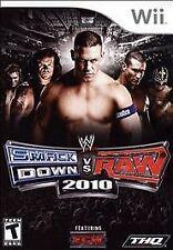 WWE SmackDown vs. Raw 2010 Featuring ECW W/CASE Nintendo Wii & WII U 2K10 10