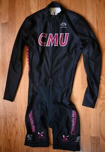 PRIMAL WEAR CMU Padded Thermal Cycling One Piece Skin Suit Mens Medium M Shorts