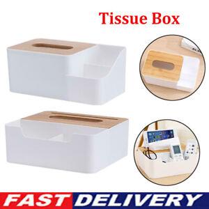 Multi-function Plastic Tissue Box Phone Shelf Holder for Home Office Supply AU