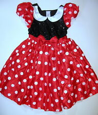 NWOT Disney Store Adult Minnie Mouse Dress Women's HALLOWEEN COSTUME Small S