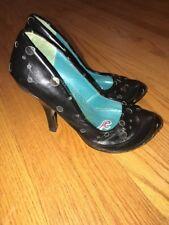IRREGULAR CHOICE Mushroom Swiss Dutch Holland High Heels Shoes Women Sz 6.5 #
