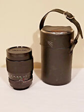 YASHICA 135mm f/1.2.8 Screw Mount Zoom Lens - With A Case