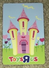 """TOYS R US CANADA GIFT CARD """"DISNEY HEART CASTLE"""" COLLECTIBLE NO VALUE NEW"""